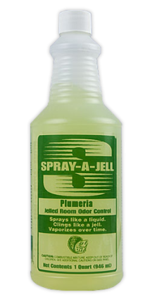Spray-A-Jell-Plumeria
